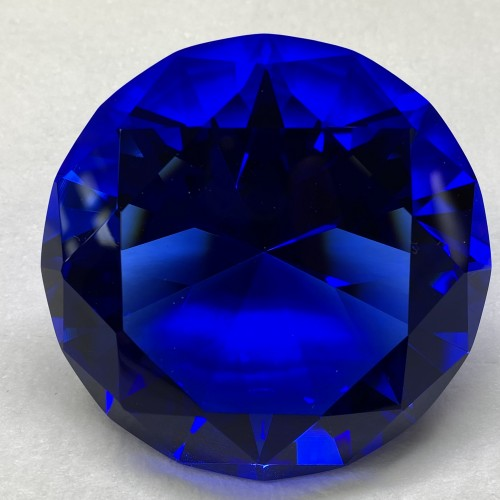 Blue crystal 80mm