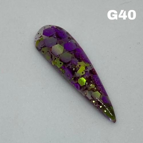 Mernaid glitter40